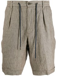 Barba Cargo Shorts Neutrals