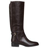 Geox 'S Felicity Knee High Boots Brown Leather