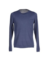 Rossopuro Knitwear Jumpers Men Slate Blue