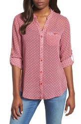 Kut From The Kloth Jasmine Top Red 1