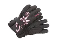 Seirus Jr Meadow Glove Black Fuchsia Extreme Cold Weather Gloves