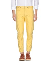 Messagerie Casual Pants Yellow