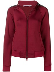 Alexander Wang T By Logo Track Jacket Red