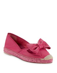 Vidorreta Shelia Leather Espadrille Flats Blush