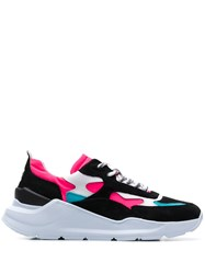 D.A.T.E. Chunky Sole Sneakers Black