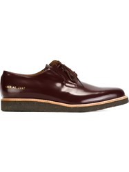 Common Projects Classic Lace Up Shoes Red