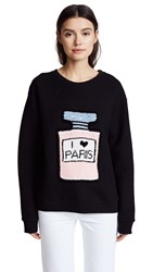 Michaela Buerger I Love Paris Sweatshirt Black