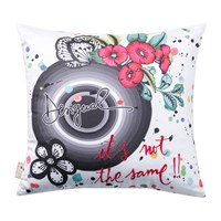 Desigual B And W Luxury 'It's Not The Same' Cushion 45X45cm
