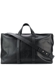 Orciani Large Square Holdall Black