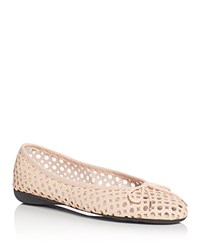 Paul Mayer Bluff Brighton Perforated Ballet Flats Orleans Beige