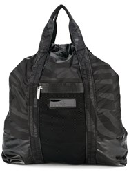 Adidas By Stella Mccartney Graphic Print Gym Backpack Black