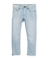 Burberry Faded Skinny Jeans Blue