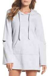 Make Model All The Stops Hoodie Grey Dusk Heather