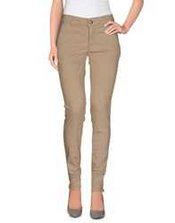 Marani Jeans Trousers Casual Trousers Women Beige