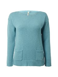 White Stuff Pepperpot Knit Jumper Blue