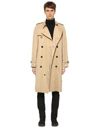 Burberry Westminster Cotton Trench Coat Honey