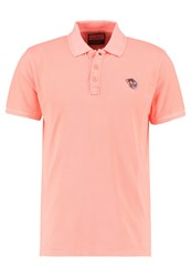 Petrol Industries Polo Shirt Fiery Coral Pink