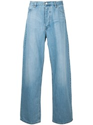 Ex Infinitas Ultra Relaxed Jeans Cotton Blue