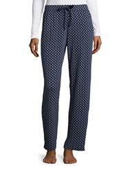 Nautica Cozy Knit Pajama Pants Blue