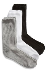 Ralph Lauren 3 Pack Cushion Sole Crew Socks Assorted