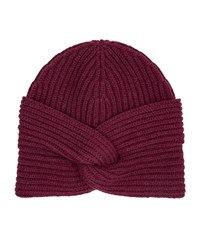 Harrods Of London Cashmere Turban Female Red