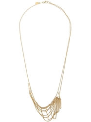 Wouters And Hendrix Gold 'Tangled Web' Necklace Metallic