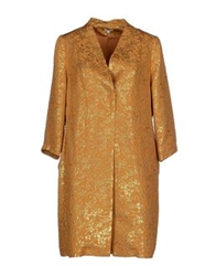 Hoss Intropia Full Length Jackets Ocher