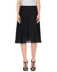 Won Hundred Skirts Knee Length Skirts Women Black
