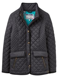 Joules Newdale Quilted Jacket Black