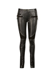 Day Birger Et Mikkelsen Cut Leather Quilted Trousers Black Black
