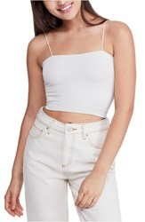 Bdg Urban Outfitters Bungee Strap Tube Top Ivory