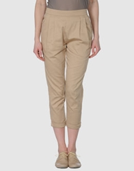 People Tree 3 4 Length Shorts Beige