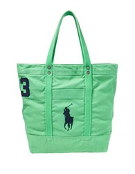 Polo Ralph Lauren Big Pony Canvas Tote Masters Green