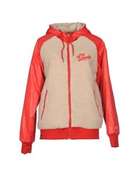 Franklin And Marshall Coats And Jackets Jackets Women Red