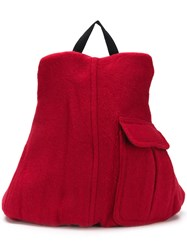 Eastpak East Pak X Raf Simons Ricceri Coat Backpack Red