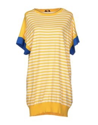 Fay Short Dresses Yellow