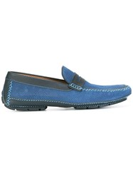 Moreschi 'Bahamas' Loafers Blue