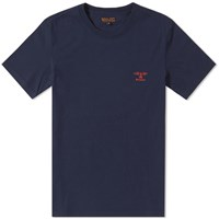 Barbour Standards Tee Blue