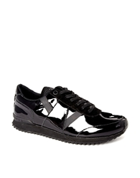 Religion Patent Running Trainers Black