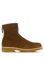 Want Les Essentiels Stevens Suede Boots Brown