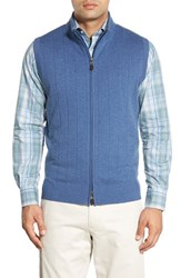 Peter Millar Men's Merino Wool Blend Vest Dusk