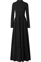 The Row Damico Ponte Gown Black