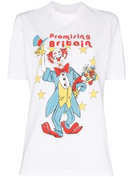 Martine Rose Clown Print T Shirt 60