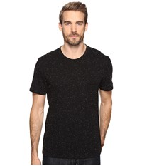 7 For All Mankind Short Sleeve Crew Neck Tee Nep Black Men's Clothing
