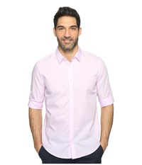 Calvin Klein Chambray Button Down Baby Pink Men's Long Sleeve Button Up