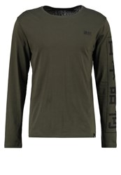 Only And Sons Onsandrew Long Sleeved Top Forest Night Khaki