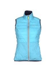 Yes Zee By Essenza Jackets Turquoise