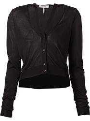 Schumacher Neck Strap Cardigan Black