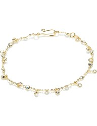 Annoushka Nectar Jasmine Droplet 18Ct Yellow Gold And White Sapphire Bracelet