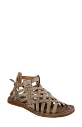 A.S.98 Ralston Gladiator Sandal Taupe